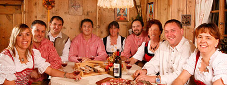Team im Wellnesshotel Südtirol Plunhof