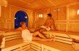 Finnische Sauna / Zum Vergr��ern auf das Bild klicken
